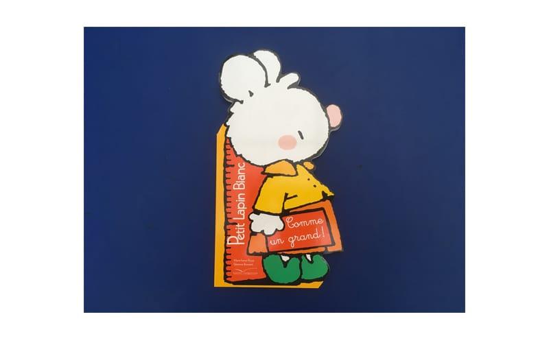 Petit lapin blanc Livres neufs à prix réduit pour les écoles maternelles